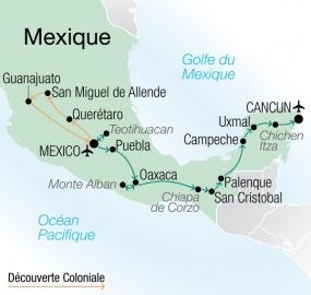 Mexique Authentique Circuit accompagné