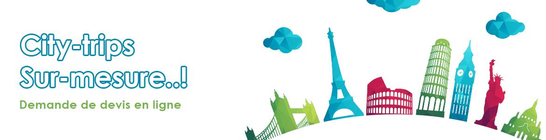 Devis voyages City-trips en ligne