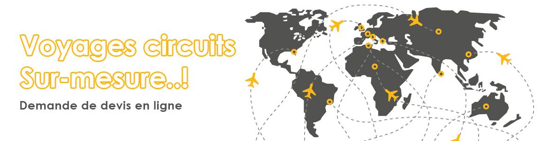 Devis voyages circuit en ligne