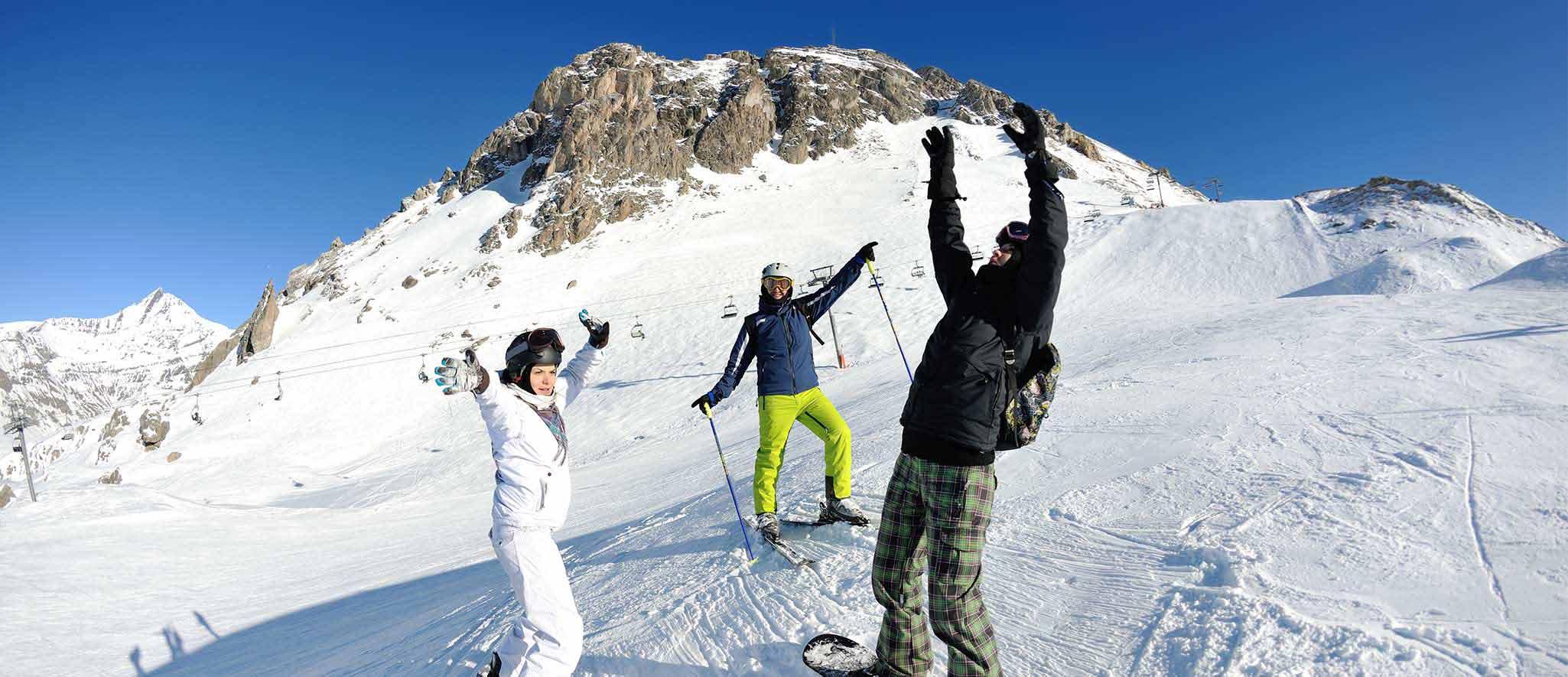 Vacances d'hiver à la montagne