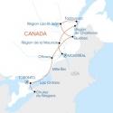De Niagara à Tadoussac en voiture de Location