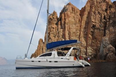 Location de catamaran privatisé avec skipper