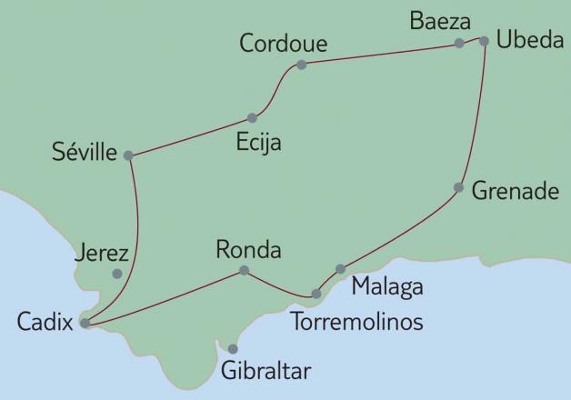 Richesses polyvalentes de l'Andalousie